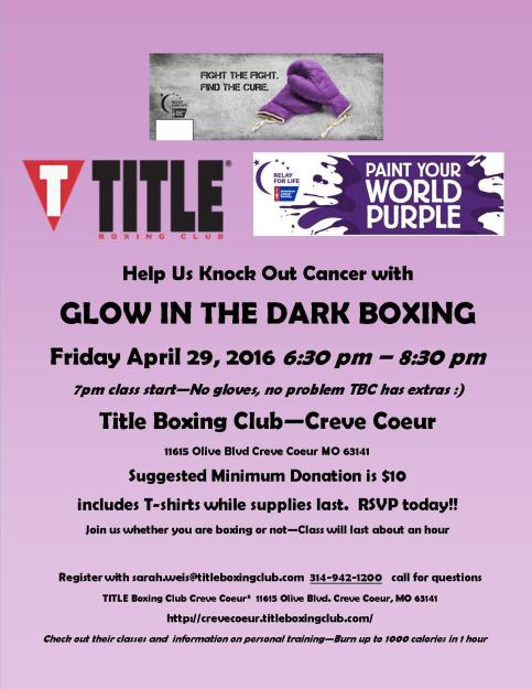 Knock out cancer draft